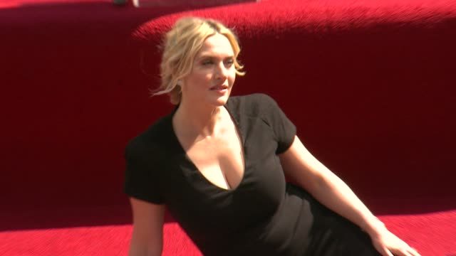 kate winslet - kate winslet honored with star on the hollywood walk of fame on march 17, 2014 in hollywood, california. - kate winslet stock videos & royalty-free footage