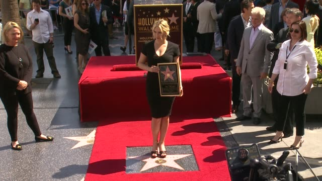 kate winslet - kate winslet honored with star on the hollywood walk of fame on march 17, 2014 in hollywood, california. - walk of fame stock videos & royalty-free footage