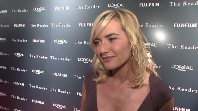 kate winslet on her cover on vanity fair on her role in the reader as hanna schimdt on what attracted her to the role and on receiving a possible... - kate winslet stock-videos und b-roll-filmmaterial