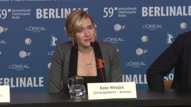 kate winslet on how she deals with the media she can't let herself get angry about what she reads or hears she reveals that she doesn't actually have... - kate winslet stock videos and b-roll footage