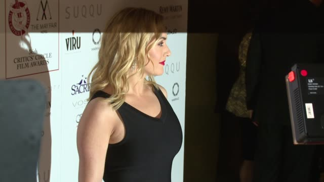 kate winslet on january 17, 2016 in london, england. - kate winslet stock videos & royalty-free footage