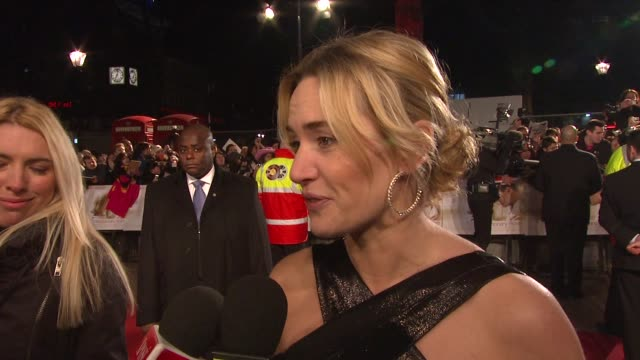 Kate Winslet on on gearing up to the Oscars at the UK Revolutionary Road Premiere at London