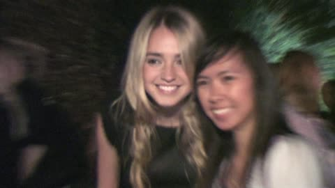 stockvideo's en b-roll-footage met katelyn tarver at the wilshire ebell theatre in los angeles at the celebrity sightings in los angeles at los angeles ca. - wilshire ebell theatre