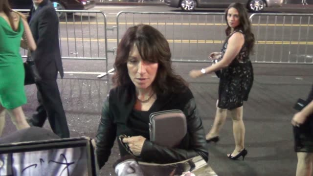 Katey Sagal greets fans at the Pacific Rim premiere outside The Dolby Theatre in Hollywood at Celebrity Sightings in Los Angeles Katey Sagal greets...