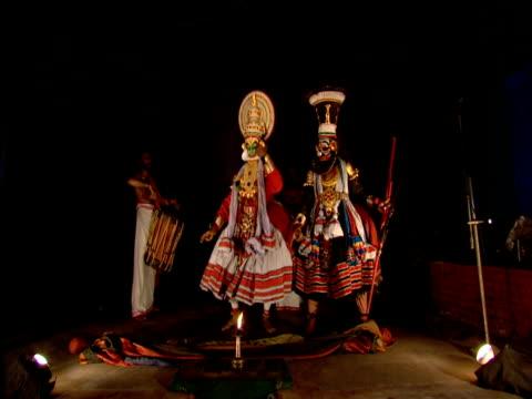 Kathakali dance performance Kochi India