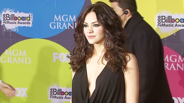 katharine mcphee at the 2006 billboard music awards at the mgm grand hotel in las vegas nevada on december 4 2006 - mgm grand las vegas stock videos & royalty-free footage
