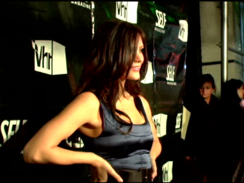 katharine mcphee at the 'hollywood's tightest bodies' presented by self magazine and vh1 at tenjune in new york new york on march 21 2007 - vh1 stock-videos und b-roll-filmmaterial