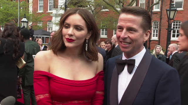 vídeos y material grabado en eventos de stock de interview katharine mcphee jack mcbrayer on not seeing many of the show nominated peoples relationship with the shows working in theatre living life... - jack mcbrayer