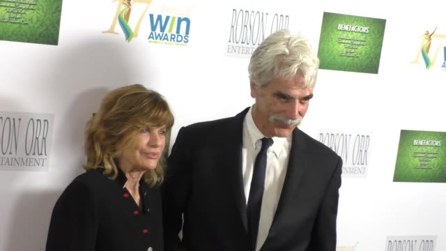 Katharine Ross Sam Elliott at the 17th Annual Women's Image Awards at Royce Hall in Westwood at Celebrity Sightings in Los Angeles on February 10...