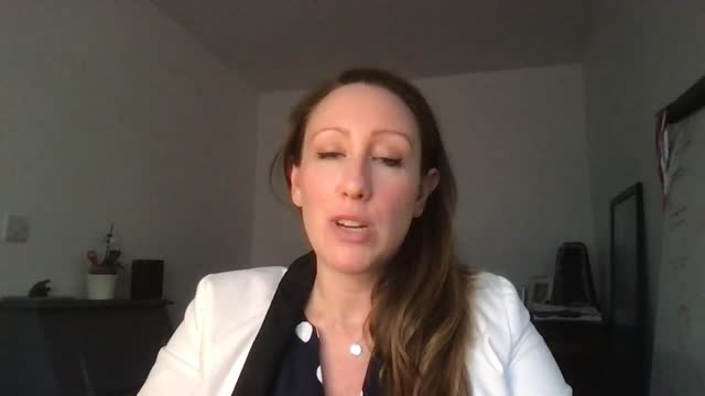 katharine wooller, a cryptocurrency expert, discusses what she hopes will come out of the cop26 summit around cryptocurrency and what can be done in... - sphere stock videos & royalty-free footage