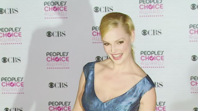 Katherine Heigl at the 2007 People's Choice Awards arrivals at the Shrine Auditorium in Los Angeles California on January 9 2007