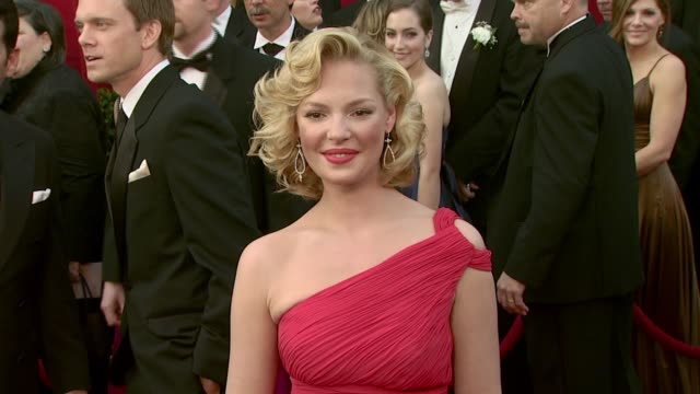 Katherine Heigl at the 2008 Academy Awards at the Kodak Theatre in Hollywood California on February 24 2008