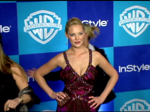 Katherine Heigl at the InStyle/Warner Brothers Golden Globes Party at the Beverly Hilton in Beverly Hills California on January 16 2006