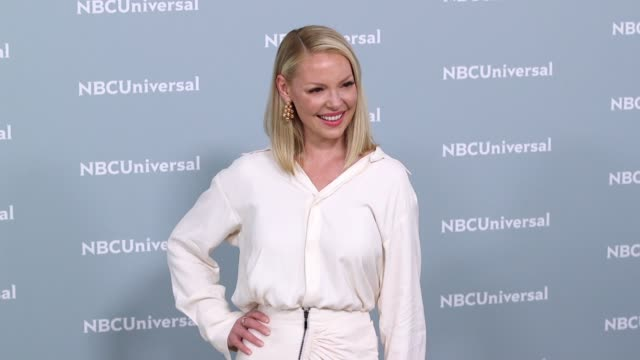 Katherine Heigl at the NBCUniversal's Upfront Presentation 2018 at Radio City Music Hall on May 14 2018 in New York City