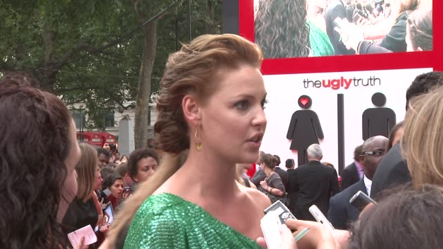 Katherine Heigl at the The Ugly Truth UK Premiere at London England