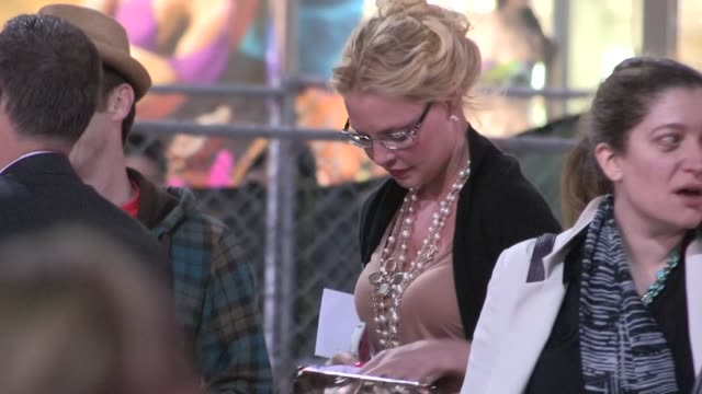 Katherine Heigl Denis O'Hare greet fans while arriving at the 42 After Party in Holllywood 04/09/13