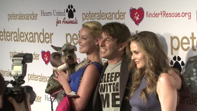 Katherine Heigl Peter Alexander Alicia Silverstone at the PETER ALEXANDER LAUNCHES NEW FLAGSHIP BOUTIQUE at Los Angeles CA