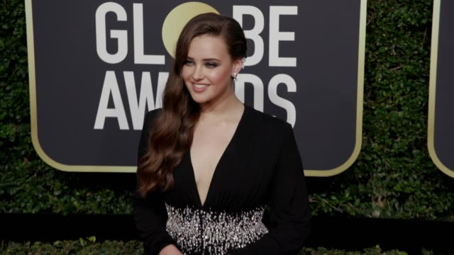 Katherine Langford at the 75th Annual Golden Globe Awards at The Beverly Hilton Hotel on January 07 2018 in Beverly Hills California