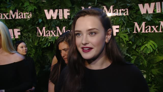 INTERVIEW Katherine Langford on what brings her out why she's excited to celebrate this years WIF Max Mara Face of the Future why its important to...