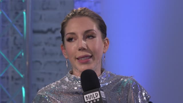 interview katherine ryan on being facinated by a snapchat account how she spoofed the press with fake news at build london interviews katherine ryan... - スナップチャット点の映像素材/bロール