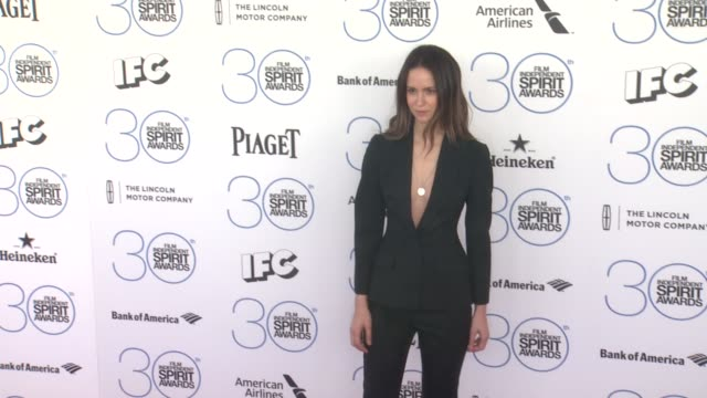 Katherine Waterston at 30th Annual Film Independent Spirit Awards Arrivals at Santa Monica Beach on February 21 2015 in Santa Monica California