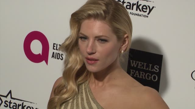 Katheryn Winnick at the 23rd Annual Elton John AIDS Foundation Academy Awards Viewing Party Sponsored By Chopard Neuro Drinks And Wells Fargo on...