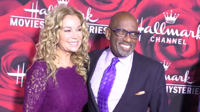 kathie lee gifford and al roker at the hallmark channel and hallmark movies and mysteries winter 2017 tca press tour at tournament house on january... - al roker stock videos & royalty-free footage