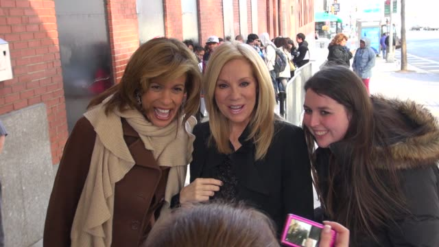 kathie lee gifford and hoda kotb at the 'anderson live' studio kathie lee gifford and hoda kotb at the'anderson l on november 14, 2012 in new york,... - kathie lee gifford stock videos & royalty-free footage