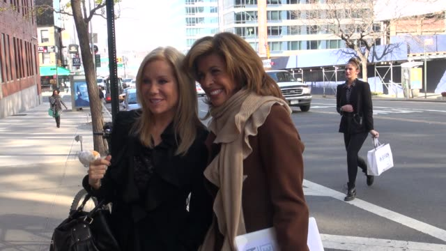 kathie lee gifford and hoda kotb at the'anderson live' studio kathie lee gifford and hoda kotb at the'anderson l on november 14, 2012 in new york,... - kathie lee gifford stock videos & royalty-free footage