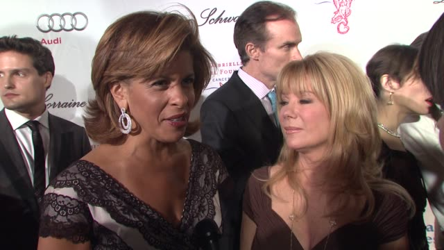 kathie lee gifford and hota kotb on why they came out tonight, about meeting with denise rich and hearing the story of her daughter. on why it's so... - kathie lee gifford stock videos & royalty-free footage