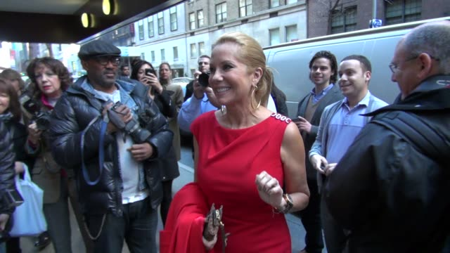 kathie lee gifford at harvey weinstein's giants super bowl pep rally in new york on 2/1/2012 - kathie lee gifford stock videos & royalty-free footage