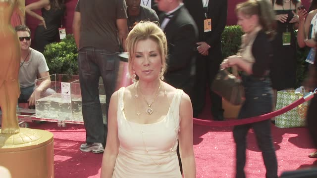 kathie lee gifford at the 60th primetime emmy awards at los angeles ca. - kathie lee gifford stock videos & royalty-free footage