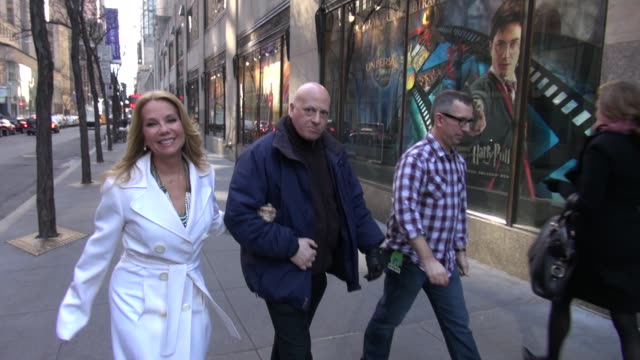 kathie lee gifford in new york on 1/18/2011 - kathie lee gifford stock videos & royalty-free footage