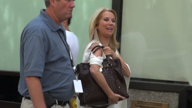 kathie lee gifford outside nbc studios in new york, ny, on 08/16/12 - kathie lee gifford stock videos & royalty-free footage