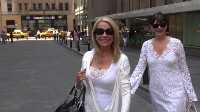 kathie lee gifford outside nbc studios kathie lee gifford outside nbc studios on june 20, 2012 in new york, new york - kathie lee gifford stock videos & royalty-free footage