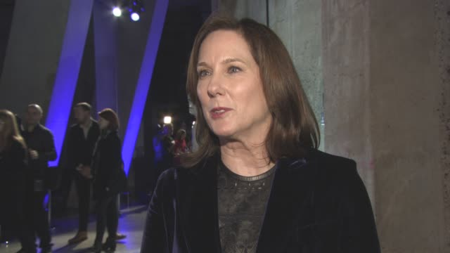 INTERVIEW Kathleen Kennedy on the storm troopers in the room the reviews cast crew the pressure of the film people seeing their first 'Star Wars'...