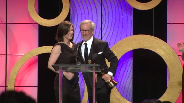 Kathleen Kennedy Steven Spielberg 63rd Annual ACE Eddie Awards at The Beverly Hilton Hotel on February 16 2013 in Beverly Hills California