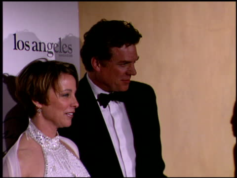 stockvideo's en b-roll-footage met kathleen quinlan at the 2002 academy awards 'ago' party at the kodak theatre in hollywood, california on march 24, 2002. - kathleen quinlan