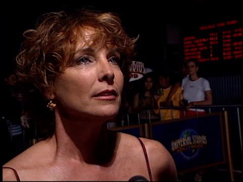 stockvideo's en b-roll-footage met kathleen quinlan at the 'apollo 13' imax premiere at universal on september 12, 2002. - kathleen quinlan