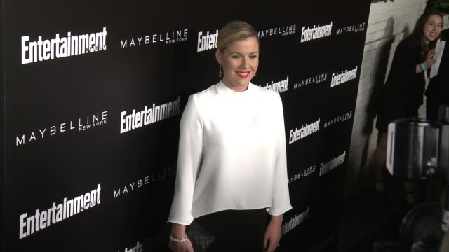 kathleen robertson at 2016 entertainment weekly screen actors guild party at chateau marmont on january 29 2016 in los angeles california - entertainment weekly stock-videos und b-roll-filmmaterial