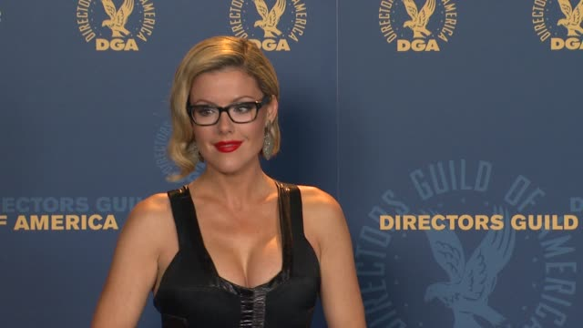 Kathleen Robertson at 64th Annual DGA Awards Press Room on 1/28/12 in Los Angeles CA