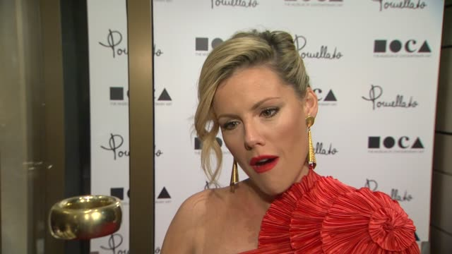 Kathleen Robertson on being a part of the night why it's a fitting location for Pomellato what she appreciates about the brand why it's important to...