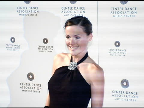 kathleen robinson at the nyc ballet gala to benefit the center dance association at the music center at dorothy chandler pavilion in los angeles... - dorothy chandler pavilion stock videos and b-roll footage