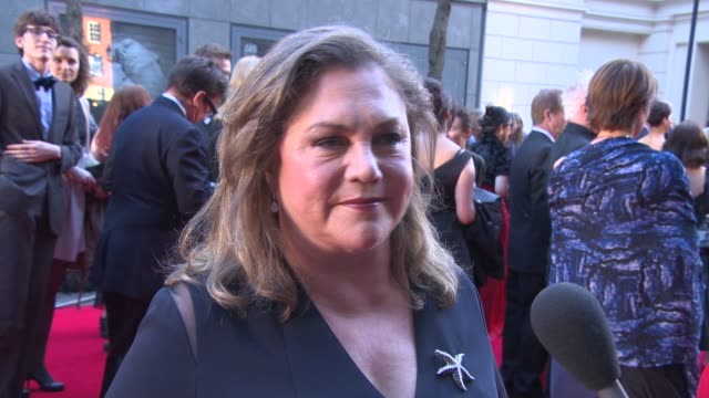 INTERVIEW Kathleen Turner on Bakersfield Mist and working in London at The Laurence Olivier Awards with MasterCard on April 13 2014 in London England