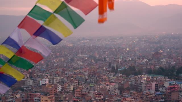 kathmandu city in nepal - kathmandu stock videos & royalty-free footage
