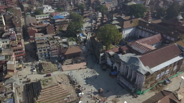 kathmandu durbar square, kathmandu, nepal - earthquake stock videos and b-roll footage