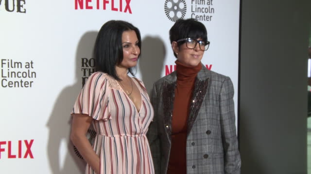 kathrine narducci and diane warren at rolling thunder revue a bob dylan story by martin scorsese at alice tully hall lincoln center on june 10 2019... - diane warren stock videos & royalty-free footage