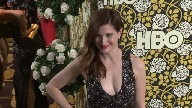 kathryn hahn at hbo's post 2016 golden globe awards party at circa 55 restaurant on january 10, 2016 in los angeles, california. - キャスリン ハーン点の映像素材/bロール