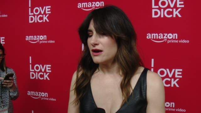 kathryn hahn on what i love dick is about, why she really wanted to play this character, filming in marfa, how it was to work with jill soloway & the... - キャスリン ハーン点の映像素材/bロール