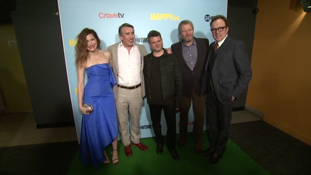 Kathryn Hahn Steve Coogan Shalom Auslander Ken Kwapis and Bradley Whitford at The SHOWTIME Premiere Of The Original Comedy Series HAPPYish at...